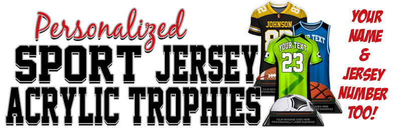Sport Jersey Colorix-T Acrylic Trophies