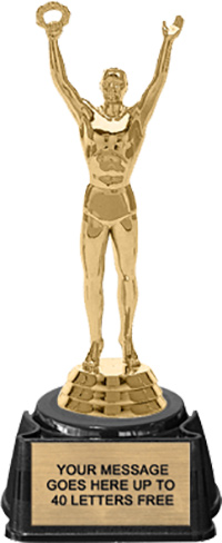 Trophy: Figure on Regal Synthetic Base