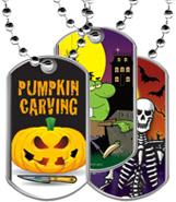 Halloween Dog Tags