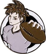 Football Anime Pin