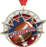 Football USA Insert Medals