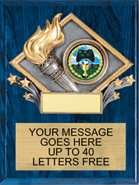 Victory Color Diamond Plaque