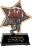Football LittlePals Resin Trophy