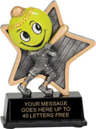 Softball LittlePals Resin Trophy