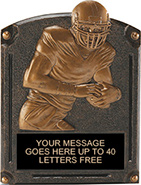 Football Legends of Fame Resin Trophy