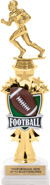 Football Shooting Star Sport Riser Trophy