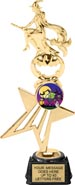 Star Fire Insert Trophy w/ Figurine