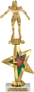 EXCLUSIVE Star Insert Riser Trophy with Figurine