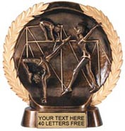 Gymnastics Super Dimensional Resin Trophy - Female