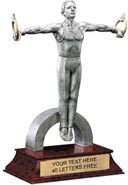 Gymnastics Signature Series Resin Trophy - Male