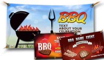 Vinyl Barbecue Banners