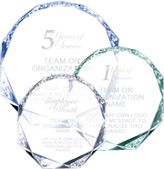Acrylic Octagon Awards