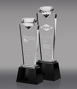 Crystal Diamond Pedestals