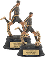 Soccer Male Power Trophies