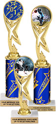Star Victory Color Insert Holder Trophies