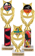 Wreath Victory Color Insert Holder Trophies