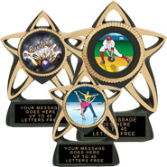 Star Resin Insert Holder Trophies