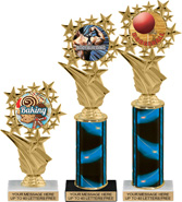 Star Frame Color Insert Trophies