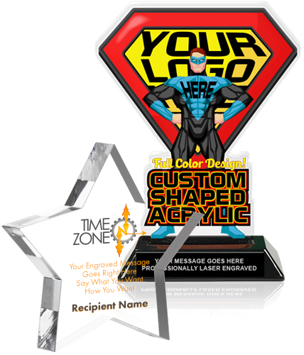 Acrylic Trophy Award