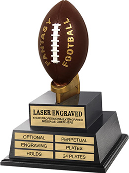 Fantasy Football on Tee Twin Tier Perpetual Trophy